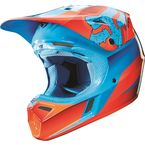Red V3 Flight Helmet - 11774-003-L