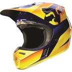 Orange V3 Flight Helmet - 11774-009-L