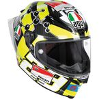 Black/Yellow Pista GP R Iannone Helmet - 6021O1HY00109