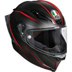 Black/Red Pista GP R GP-9 Helmet - 6021O2HY00105