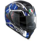 Black/Blue K5 Hurricane Helmet  - 0041O2HY00908