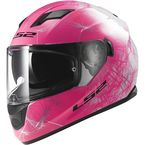 Pink/White/Black Stream Wind Helmet - 328-1504