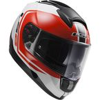 White/Black/Red Citation Wake  Helmet - 397-6205