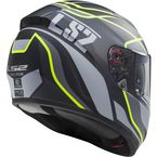 Matte Black/Gray/Yellow Vector Vantage Helmet - 397-6314