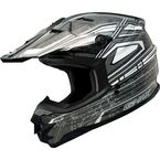 Silver/White/Black GM76X Helmet - G3768247 TC-5