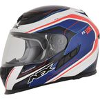 Red/White/Blue FX-105 Thunderchief Helmet - 0101-9746