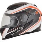 Orange FX-105 Thunderchief Helmet - 0101-9758