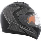 Gray/BLack Tranz 1.5 RSV Direction Modular Helmet w/Electric Shield - 505384