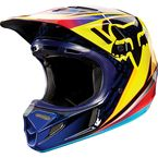 Orange V4 Race Helmet - 11602-009-L