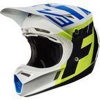 White/Yellow V3 Creo Helmet - 19094-214-L