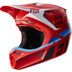 Red V3 Seca Helmet - 17868-003-L