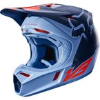 Orange/Blue V3 Libra Helmet - 18334-592-L