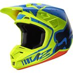 Yellow/Blue V2 Nirv Helmet - 17371-586-M