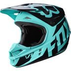 Green V1 Race Helmet - 17343-004-L