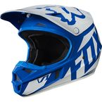 Youth Blue V1 Race Helmet - 17396-002-L