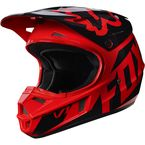 Youth Red V1 Race Helmet - 17396-003-L