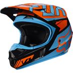 Youth Black/Orange V1 Falcon Helmet - 17399-016-L