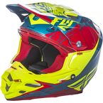 Red/Hi-Vis F2 Carbon MIPS Retrospec Helmet - 73-4223L