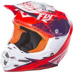 Purple/Orange F2 Carbon MIPS Retrospec Helmet - 73-4226S