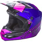 Pink/Purple/Black Kinetic Elite Onset Helmet - 73-8509X