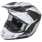 Matte White/Black Kinetic Pro Cold Weather Helmet - 73-4935L