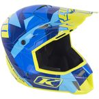 Blue/Green Camo F3 Helmet - 3110-000-140-002