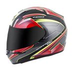 Red/Yellow EXO-R410 Kona Helmet - 41-1315