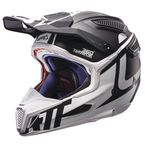Black/White GPX 6.5 Carbon V16 Helmet - 1017110033