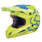Lime/Blue GPX 5.5 Composite V15 Helmet - 1017110474