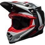 Black/White Moto-9 Flex Vice Helmet - 7080718