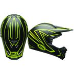 Matte  Black/Hi Viz Yellow SX-1 Whip Helmet - 7080871