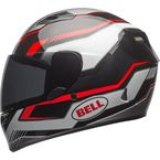 Black/Red Qualifier Torque Helmet - 7081174