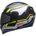 Black/Blue/Yellow Qualifier Torque Helmet - 7081186
