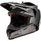 Black/Chrome Moto-9 Flex Seven Rogue Helmet - 7081382