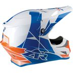 Orange/Blue Rise Helmet - 0110-5104