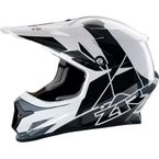 White/Black Rise Helmet - 0110-5121