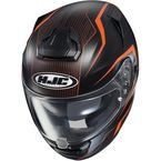 Semi-Flat Black/Orange RPHA-ST Dabin MC-7SF Helmet - 1610-774