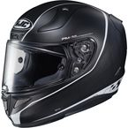 Semi-Flat Black/White RPHA-11 Pro Riberte MC-5SF Helmet - 1652-754