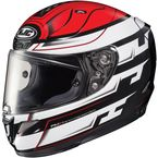 White/Black/Red RPHA-11 Pro Skyrym MC-1 Helmet - 1654-914
