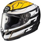 White/Black/Yellow RPHA-11 Pro Skyrym MC-3 Helmet - 1654-935