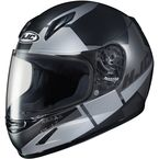 Youth Semi-Flat Black/Gray CL-Y Boost MC-5SF Helmet - 236-754