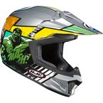 Silver/Blue/Red CL-XY II Youth Avenger Helmet - 290-214