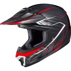 Black/Red CL-XY II Youth Blaze MC-1 Helmet - 292-912