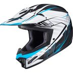 White/Black/Blue CL-XY II Youth Blaze MC-2 Helmet - 292-923