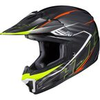 Black/Neon Green CL-XY II Youth Blaze MC-5 Helmet - 292-954