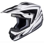 White/Black/Gray CS-MX II Edge MC-5 Helmet - 326-957
