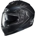 Semi-Flat Black/Gray IS-17 Lank MC-5SF Helmet - 596-754