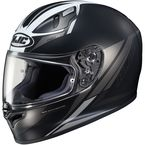 Semi-Flat Black/White FG-17 Valve MC-5SF Helmet - 638-754