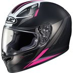 Semi-Flat Black/Pink FG-17 MC-8SF Valve Helmet - 638-784