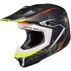 Black/Neon Green/Red CL-X7 Blaze MC-5 Helmet - 752-954